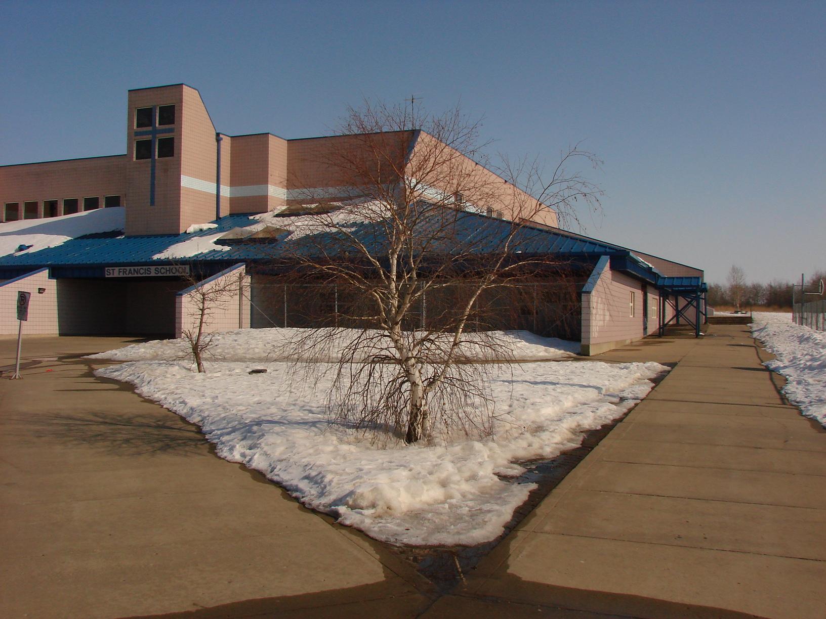 St Francis school sidewalk to CA Gymnasium.JPG