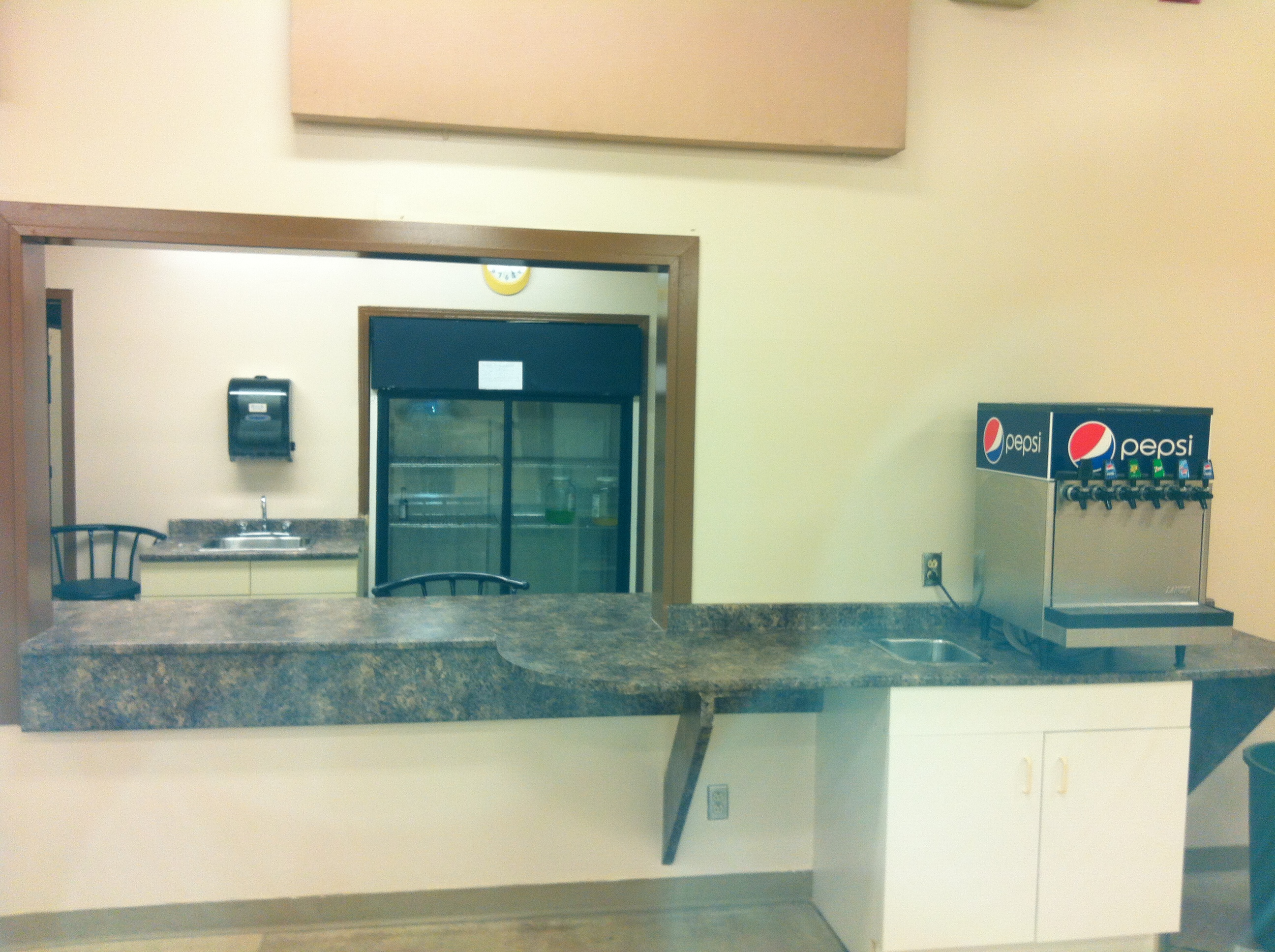 Nordale Hall bar servery new counters.JPG