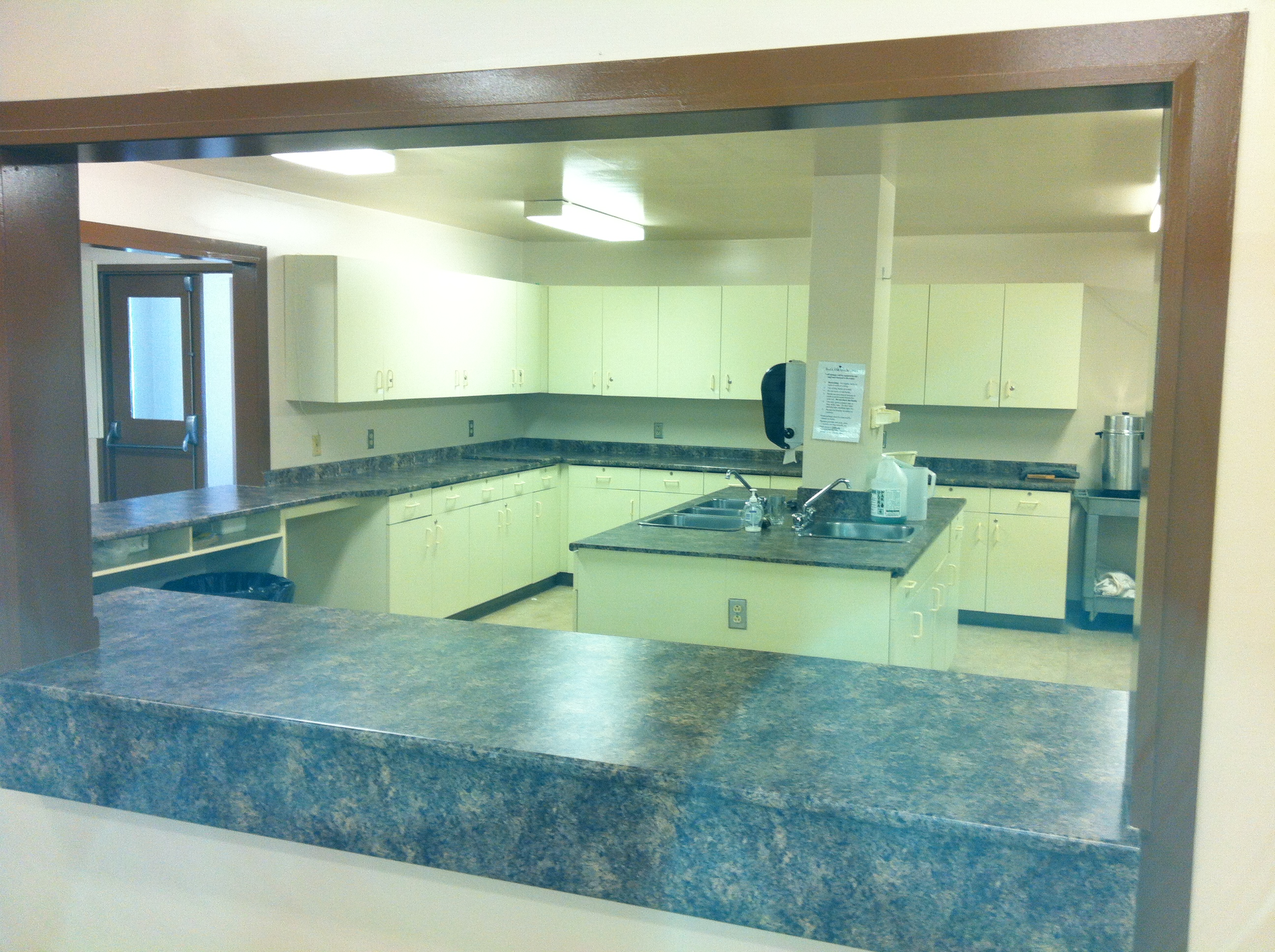 Nordale Hall new kitchen counters 1.JPG