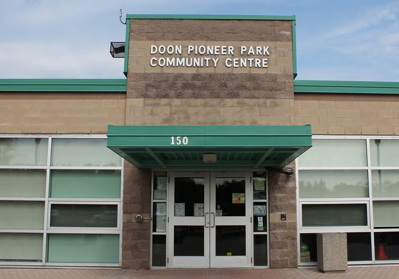 Image of Doon Pioneer Park Community Centre
