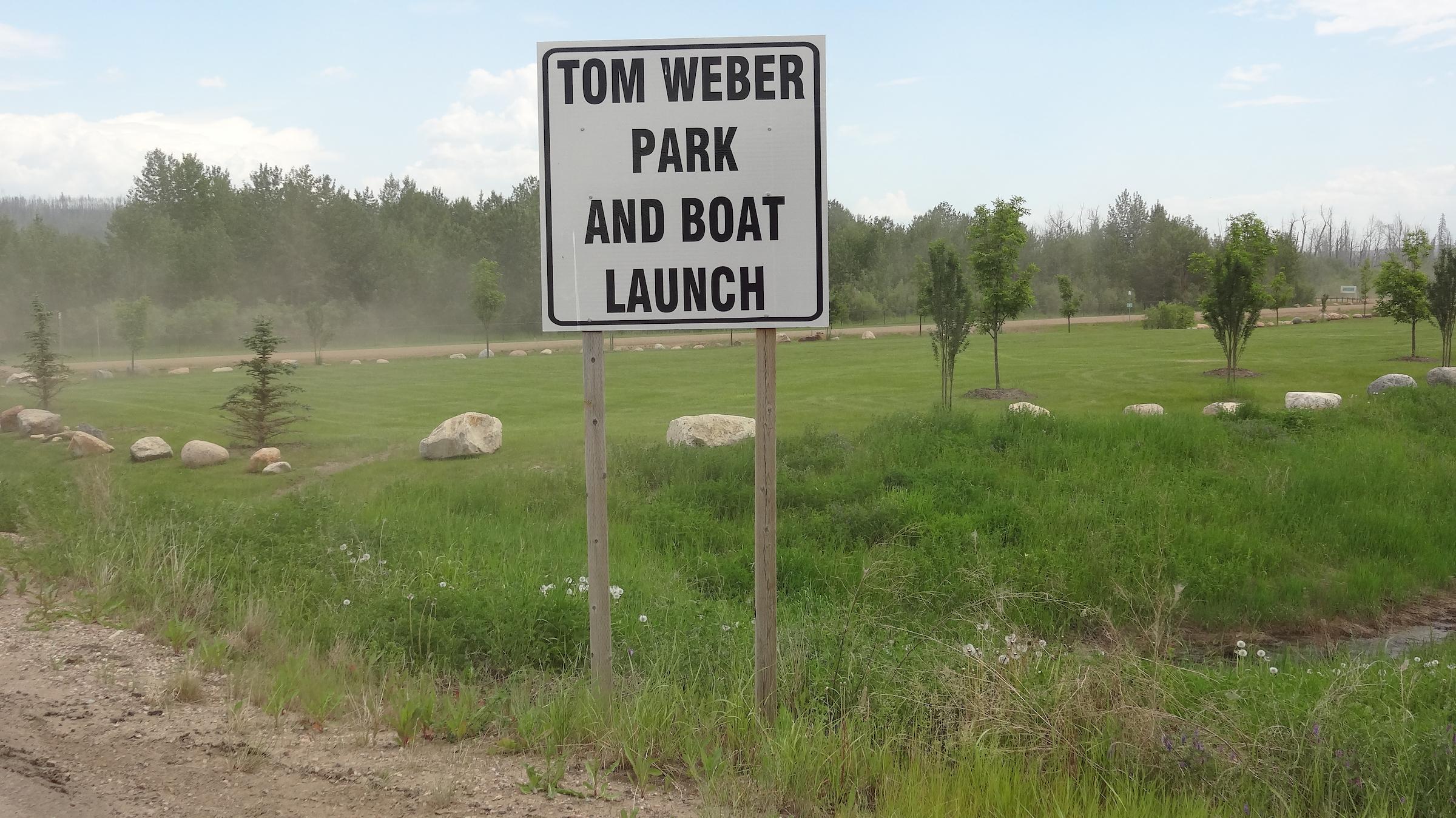 Tom Weber Boat Launch.JPG