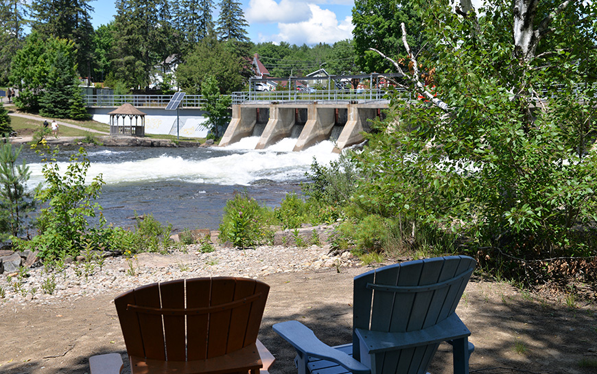 heney lake dam with chairs.jpg